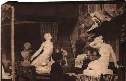 Pauline Pradelle, wife of sculptor Emman..