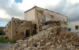Earthquake of 8.1.2006 – ruins of..