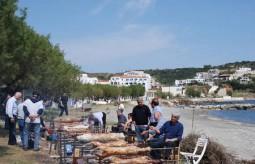 Easter lambs at Agia Pelagia