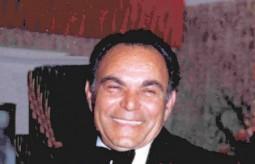 Con George Poulos, 1980.
