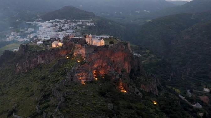 Chora's ancient Castle