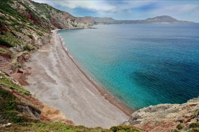 The infinite beach of Fyri Ammos