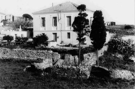 Maria Simos-Levounis. My Story. - Levounis house, Potamos