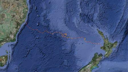 Australia to New Zealand by Kayak - Tasman_Map3