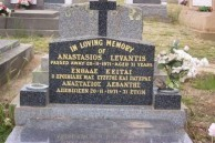 "Levantis, Anastasios ""Tass"", Goulburn."