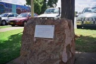 Vanges Memorial. Park, Nyngan, NSW.