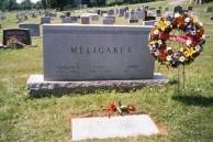 Meligakes Gravestone at Gettysburg, PA, USA