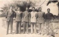 Con Gavrilis and friends at Port Said going to Australia
