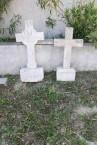 Two Headstones, Drymonas Cemetery