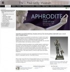 Aphrodite and the Gods of Love. March 28th, 2012 - July 9, 2012, the Getty Villa