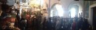 Large congregation present