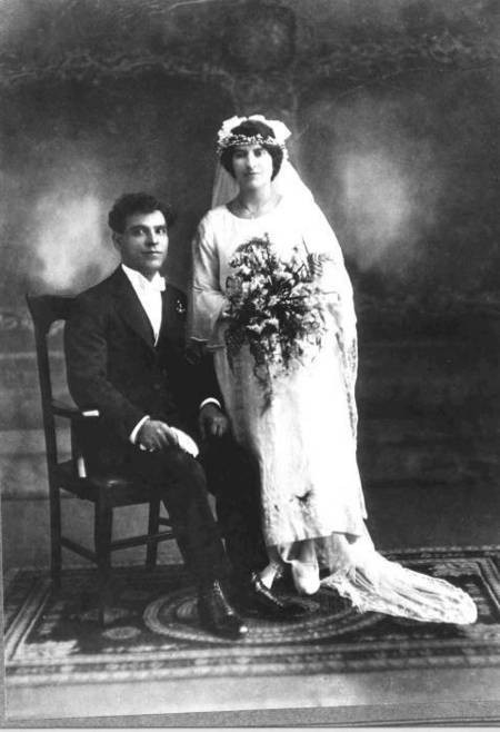 Coroneos/Comino Wedding 1924