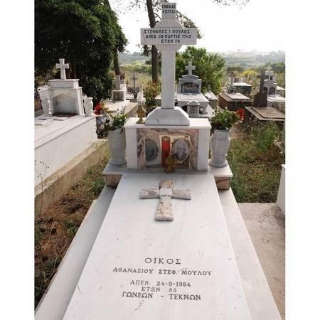 Stefanos I. Athanasiou & Stef. Moulou - Logothetianika Cemetery