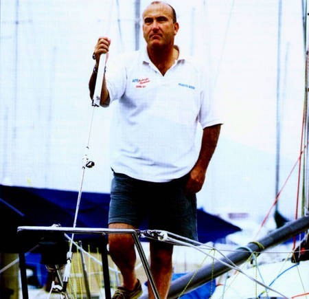 Ed Psaltis. Sailor.
