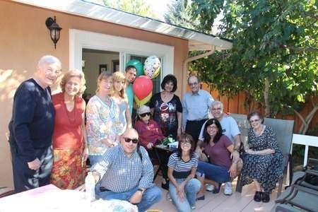 Stamatoula Chlentzos celebrates her 106th birthday