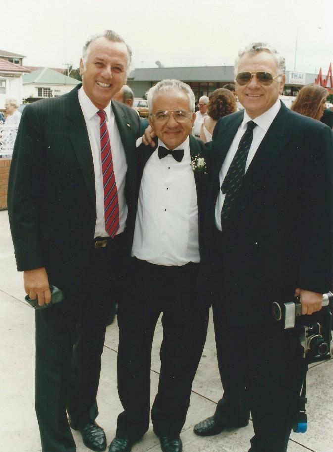 Michael, Stephen and Steve Zantiotis - 1994