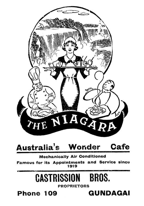 Greek Café & Milk Bar Lecture and Afternoon Tea at the Niagara Café at Gundagai