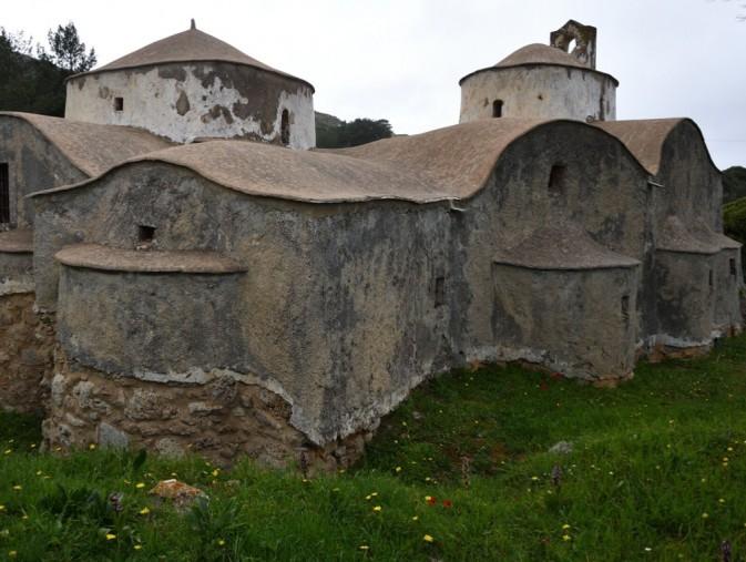 The original St. Dimitrios Church at Pourko