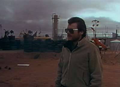 George Miller - Byron Kennedy at the start of Mad Max II