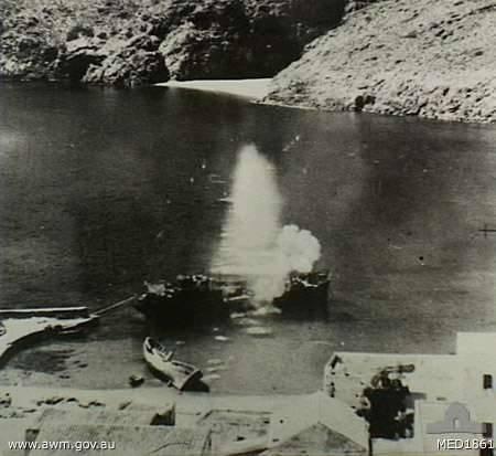 Kapsali (Kythera), Aegean Sea. 5 May 1944. - Kapsali (Kythera), Aegean Sea. 5 May 1944
