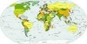 Greeks of the Diaspora. World population statistics. - Diaspora greeks world map