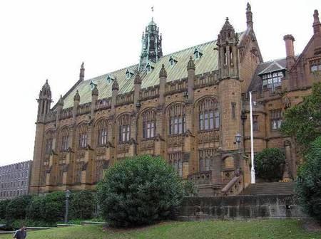 MacLaurin Hall, Main Quadrangle, Sydney University - sydneyarchitecture 4
