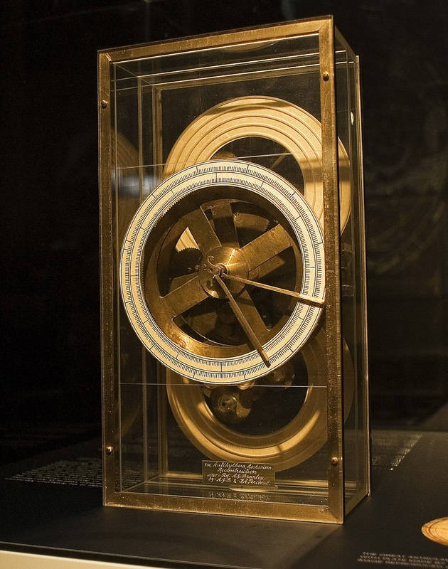 Artefacts  The Antikythera mechanism on display at the Nicholson Museum