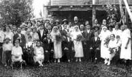 Triple Taifalos wedding, Silkwood, North Queensland, 1925.
