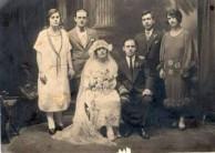 Gavriles/Panaretos wedding 1925 Pawtauket, Rhode Island