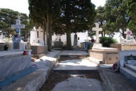 Overview of Potamos Cemetery (plus partial list)