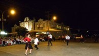 The Greek dancing display was a feature of the evening