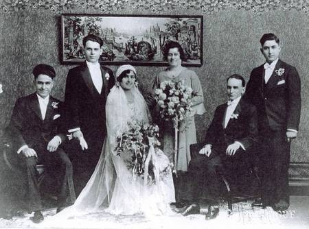 Crethar/Panaretto Wedding 1932
