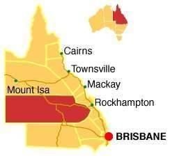 Cassimatis Family. Muttaburra. Central  Western Queensland.