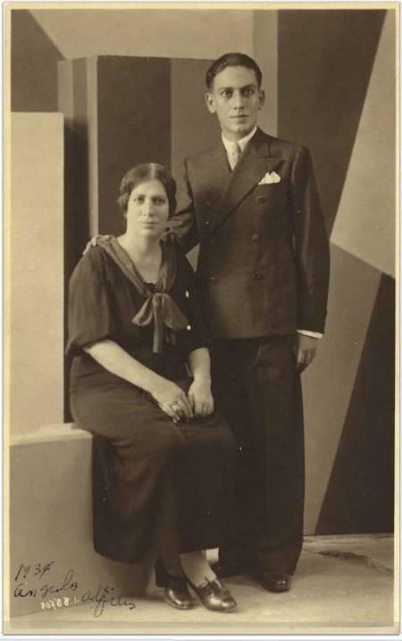 Zafeiria Koroneos Alfieris, and son Angelo Alfieris
