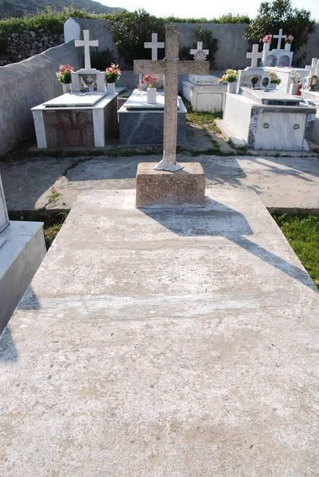 Gravestone at Drymonas