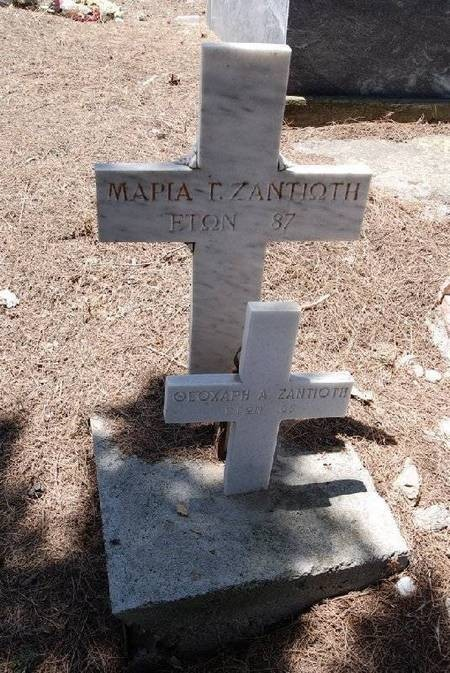 ZANTIOTI M.G. AND T.-----CEMETERY PANAGIA DESPINA