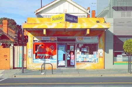 Melbourne illustrator Eamon Donnelly preserves the suburban milk bar
