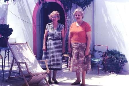 Vasilia Vlandys & Noula Tambakis - August 1984