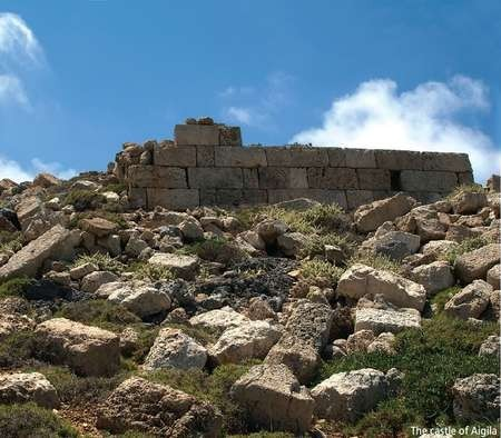 The Castle of Aigila - Antikythera