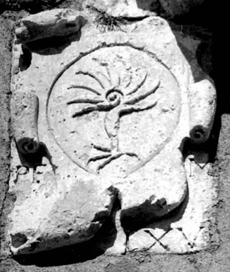 Entrance at Mylopotamos - entrancedetail