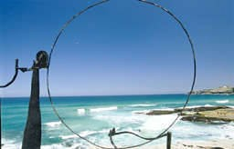 Orest Kerwan* also won First Prize in the 1999 Sculpture by the Sea. - Keywan Orest Rocky Moon