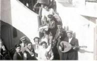 Musicians at the Fardoulis/Lahanas wedding 1954