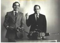 Inventors John Notaras (left) and Angelo Notaras