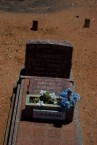 "Ollie Konstandinou (Tzortzo)Poulos. Her gravesite in relationship to ""Georgie"" Thomas's."