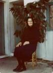 Kirrani Souris. My yia yia. Seated imperiously.