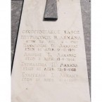 Lahana Family Plot - Logothetianika Cemetery (Close-Up)