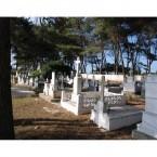 View of Logothetianika Cemetery