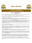 Media Release 75th Anniversary Celebrations