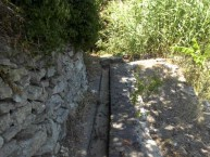 Another canal of many in Mylopotamos
