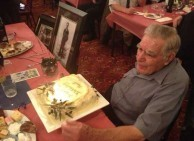 Paul Calokerinos was very gratified by all the best wishes he received on his birthday